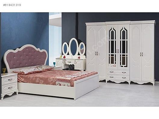 Zirve Mobilya 100 Mdf Boyama Y Odası Takımı Yatak Odası Takımı