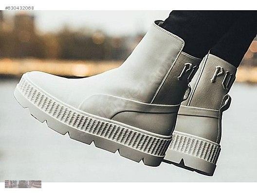 sale retailer 5d241 343f8 puma fenty rihanna chelsea sneaker boot vanilla ice 366266 02