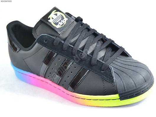 adidas superstar 80s rainbow sole