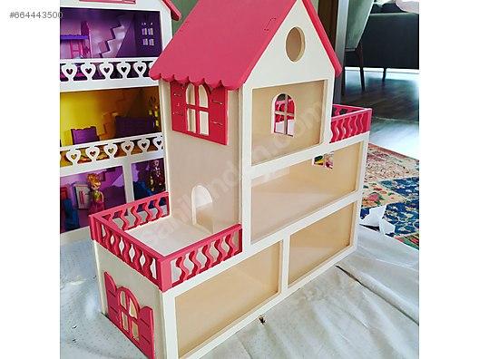 Play House Ahsap Boyama çocuk Oyun Evi At Sahibindencom