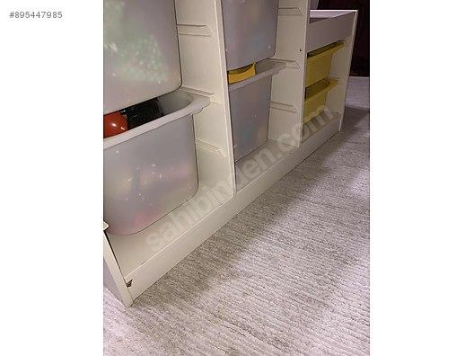 cupboard ikea trofast oyuncak dolabi