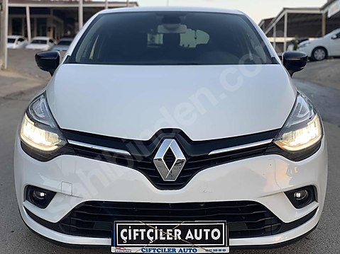 Çiftçiler auto dan 2018 model Renault Clio 1.5...
