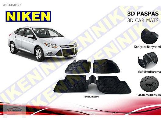 Cars Suvs Interior Accessories Ford Focus 3 3d Havuzlu Paspas