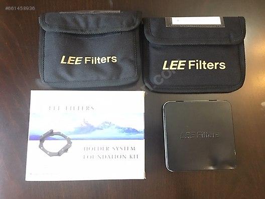 Lee Filters Foundation Kit,77mm ring, 9ND grd ve big stopper set