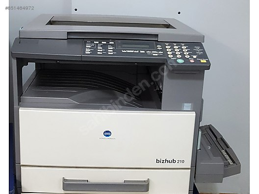 KONICA MINOLTA BIZHUB 210 PRINTER DRIVER WINDOWS XP