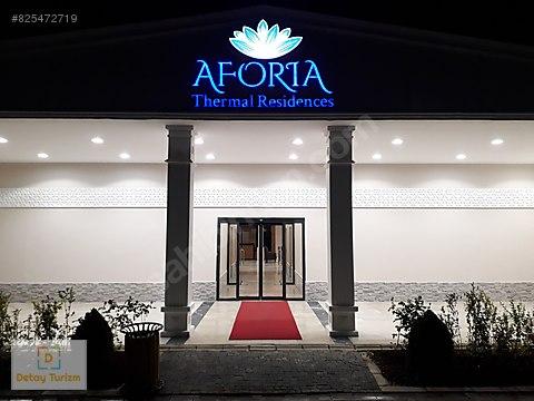 AFYON/AFORİA TERMAL'DE 1+0 STUDIO SÖMESTR 10 GÜNLÜK...