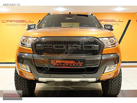 CARSELL 2018 FORD RANGER 3.2 TDCI 4x4 WİLD TRAK...