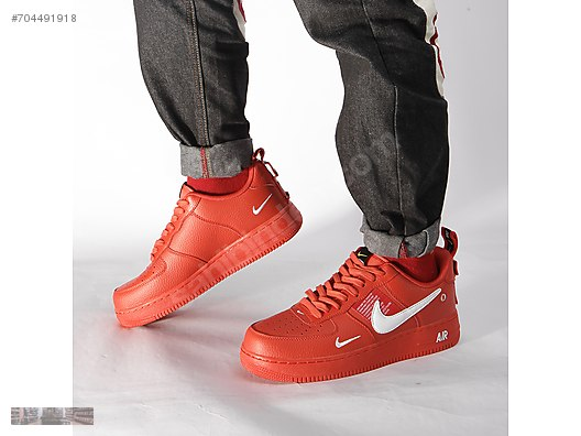 Casual Shoes NIKE AIR FORCE 1 07 LV8 TEAM ORANGE