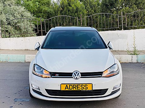 AUTO ADRESS+ 2015 GOLF HİGHLİNE CAMTVN+LED+HZSBTLME+ULED+BOYASIZ