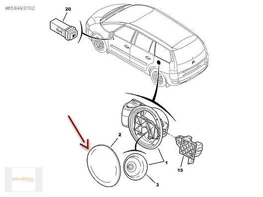 Cars Suvs Engine Citroen C4 Picasso Yak T Depo Kapa Orjinal C2: Citroen 2cv Engine Diagram At Daniellemon.com