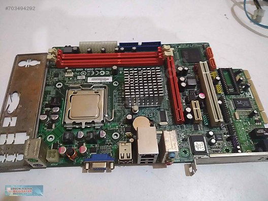 ECS G41T-M7 QUADCORE İŞLEMCİ DDR3 RAM DESTEKLİ