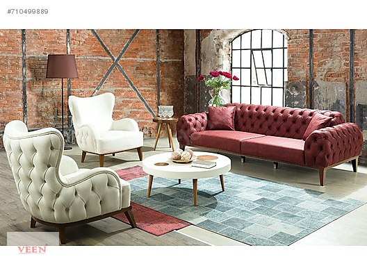 Living Room Set En Uygun Fiyat Garantisi Leona Chester