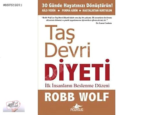 Taş Devri Diyeti Robb Wolf Sağlık Kitap Sıfır Sağlık Tıp