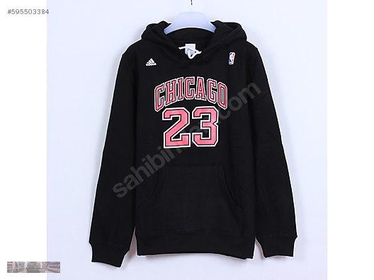 ae232d131e4a adidas nba chicago bulls black jordan hoodie sweatshirt