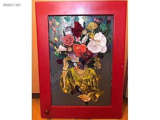 Yağlı Boya Yapay çiçek Su Bazlı Boya Tablo At Sahibindencom