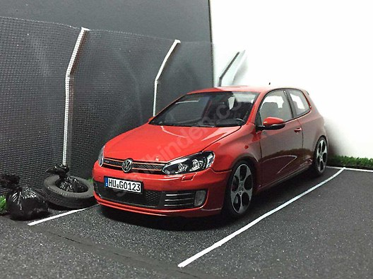 118 NOREV VW GOLF MK6 GTI TORNADO RED
