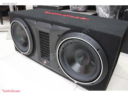 Speaker / SubWoofers / ROCKFORD FOSGATE P3-10D2 - KABINLI