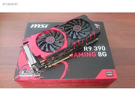 MSI R9 390 GAMING 8GB GDDR5 512Bit AMD Radeon DX12