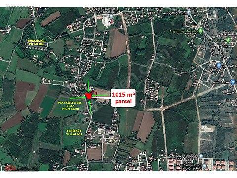 ARAPÇİFTLİĞİNDE 1015 m² SATILIK PARSEL