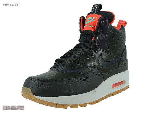 NIKE AIR MAX 1 MID SNEAKER BOOT REFLECT SEQUOIA GREEN 807307
