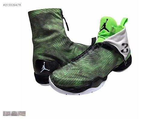 timeless design ba013 b2da1 NIKE AIR JORDAN XX8 ELECTRIC GREEN WHITE BLACK 584832 301
