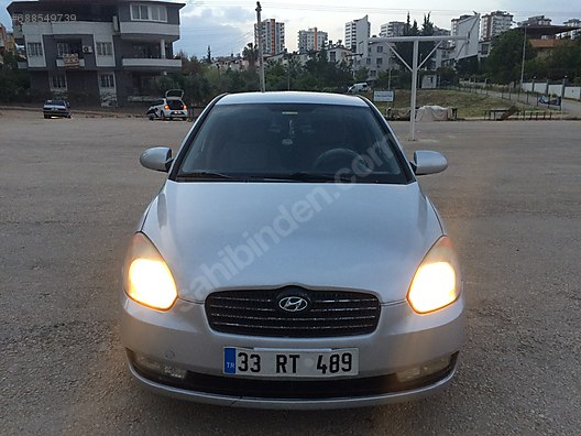 hyundai accent 2008 model sahibinden