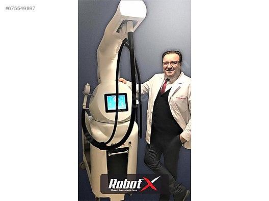 Robotx Hybrid Lazer Epilasyon Cihazi Lazer Epilasyon
