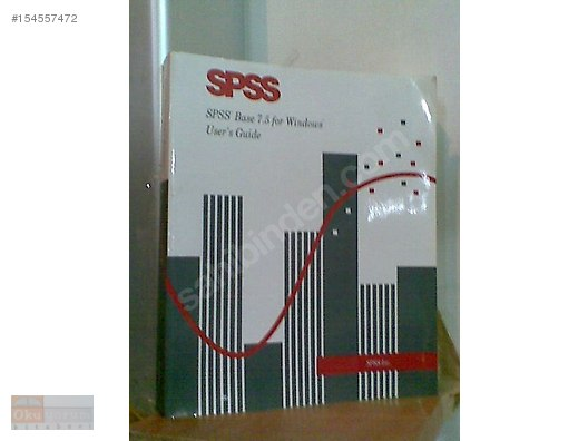 Spss base 7. 5 for windows user's guide: spss inc. : 9780136572640.