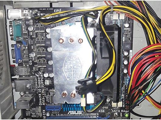 Amd Fx 6300 , ASUS M5A78L-M , 12 Gb Ddr3 Ram ve Soğutucu