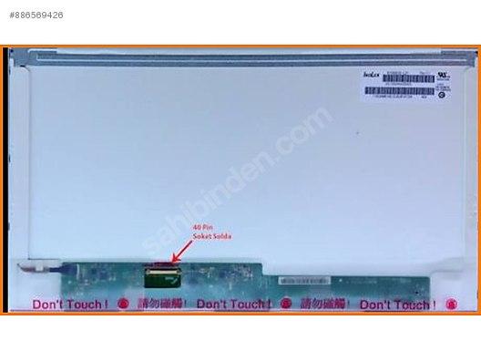1 yil garantili 15 6 led ekran 40 pin