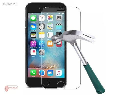 Iphone 7 Koruyucu Ekran Cam Hemen Kargo Gerek Temperli