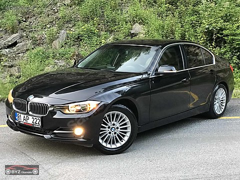 2012 BMW 320d LUXURY JOYSTİCK BORUSAN ÇIKIŞLI KM:...