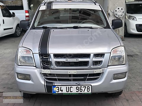 2005 D-MAX TEK KABİN 4x2 MASRAFSIZ MUAYENE YENİDİR