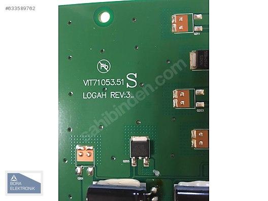 VIT71053 51 S , LOGAH REV:3 , 42LG5000 LG INVERTER BOARD - TV Yedek