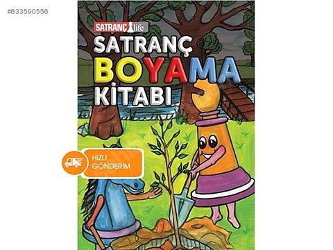 Satranç Boyama Kitabi At Sahibindencom 633590556