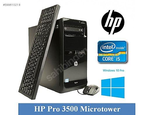 HP Pro 3500 Microtower Masaüstü Bilgisayar - HP Masaüstü