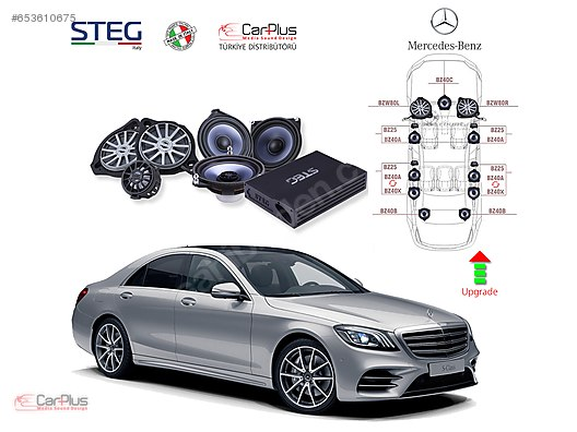 Complete Systems / Mercedes Benz S Serisi STEG Italy Sound System