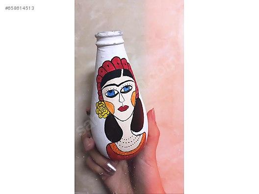 Cam şişe Boyama At Sahibindencom 658614513