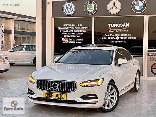 EMRE AUTO'DN 2020 VOLVO S90 2.0d D5 INSCRİPTİON PLUS GEARTRONİC