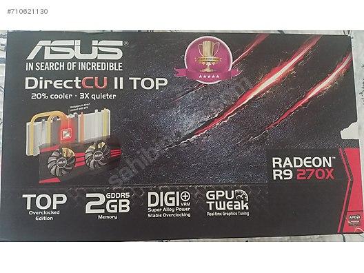 ACİLL Asus Radeon R9 270X Ekran Kartı at sahibinden com