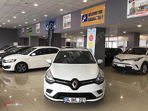 ADEM PLAZA' DAN 2020 MODEL RENAULT CLİO SPORT TOURER...