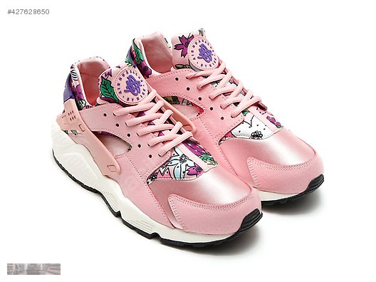 20d6cd9634b2 nike air huarache run print pink aloha glaze purple 725076 600