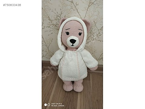 Ayı Teddy Yapımı Amigurumi - #1 (Crochet Amigurumi Teddy Bear ... | 360x480