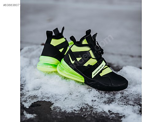 huge selection of 78491 317ad Nike Air Force 270 Utility Black Volt AQ0572-001 at sahibinden.com -  636636071