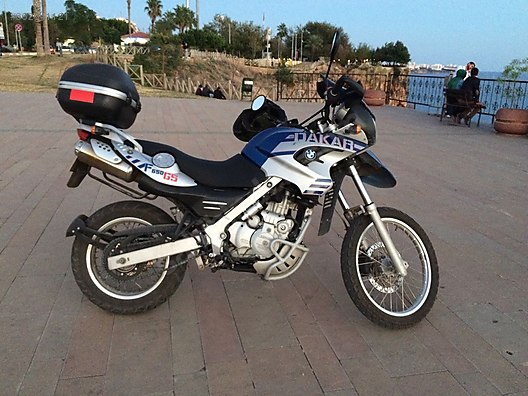 Bmw F 650 Gs Dakar Bmw F650 Gs Dakar 2005 Model Abs At