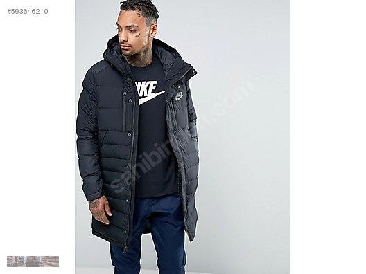 3712a1af78f7 nike sportswear nsw down fill long parka hoodie coat 807393 011