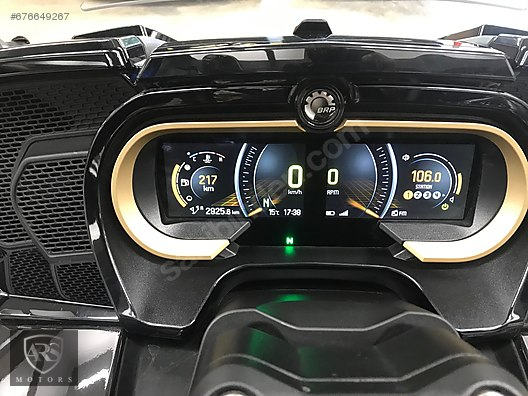 Bombardier (BRP) Spyder Roadster 2018 Model Naked