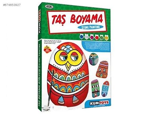 Kumtoys Taş Boyama At Sahibindencom 674653927