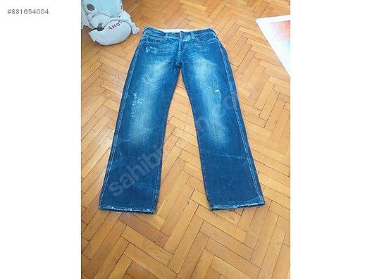 Zara Denim Kot Pantalon At Sahibinden Com 881654004