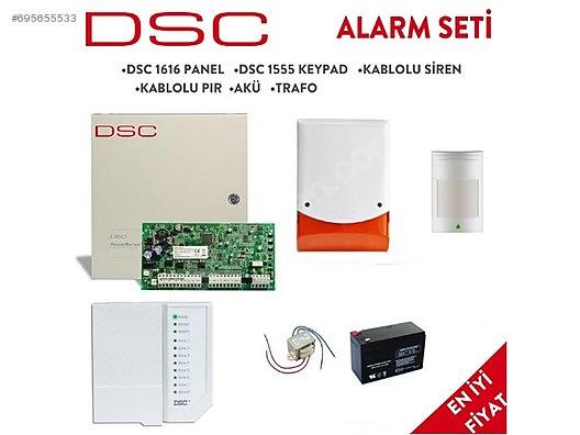 Kablolu DSC Alarm Sistemi, 2 Yıl Garantili at sahibinden com